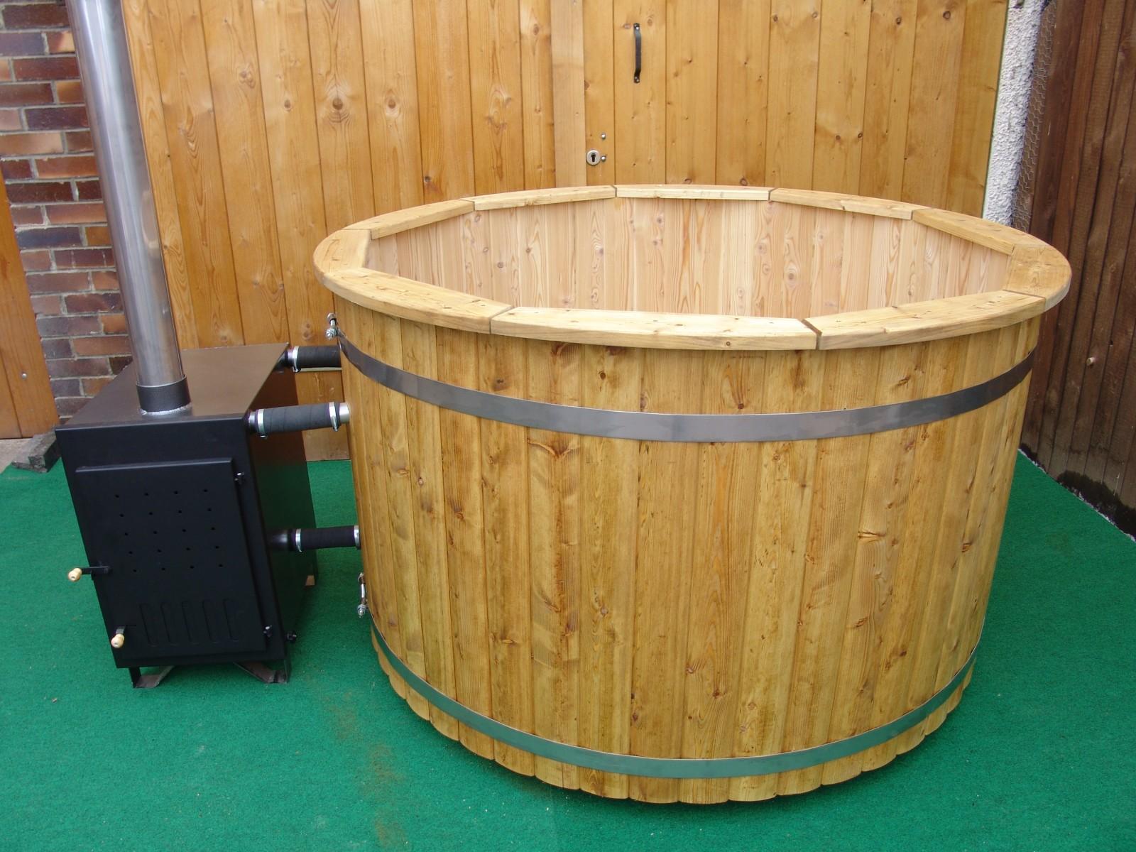 how to build a cedar barrel hot tub