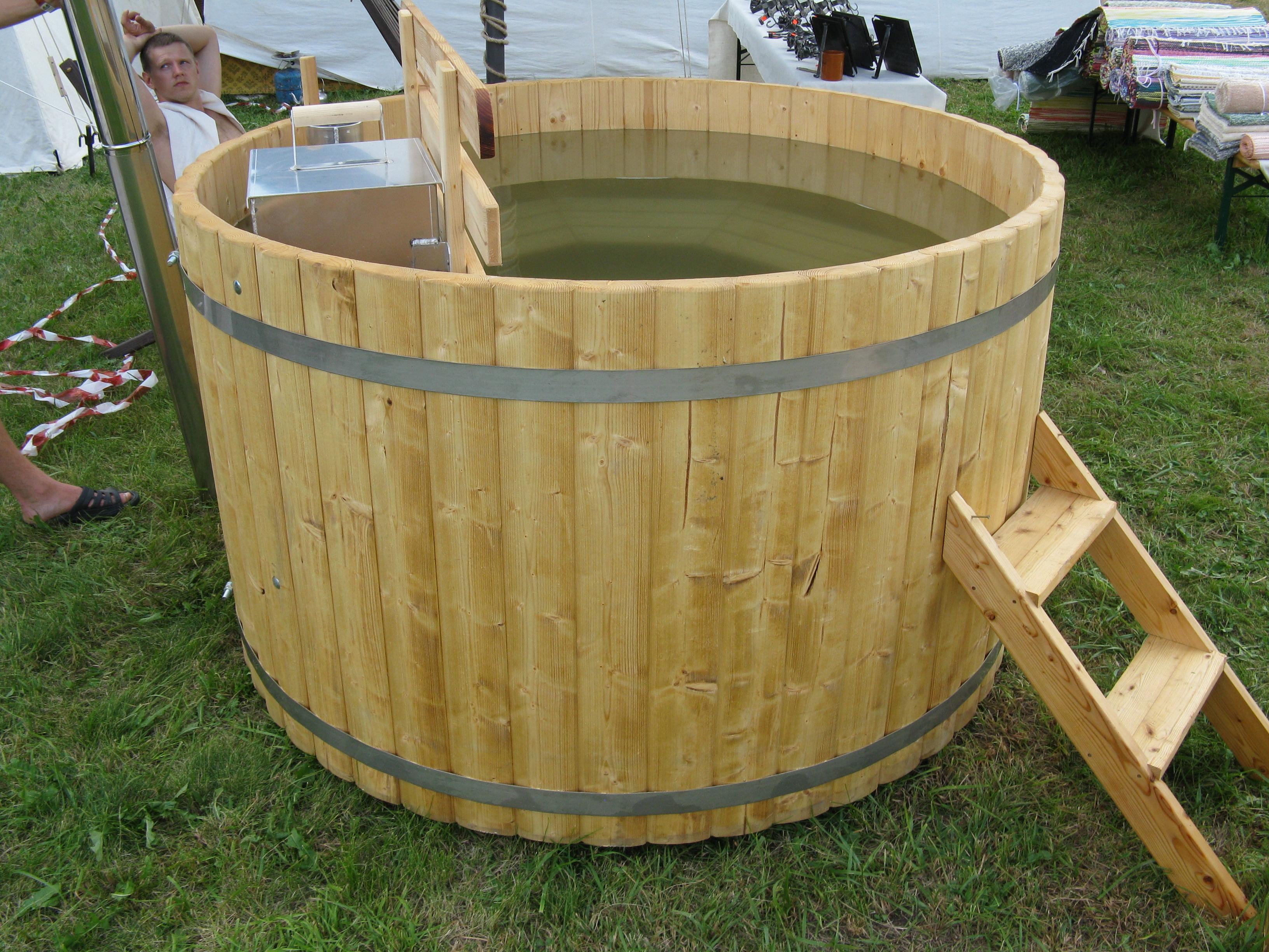 f2a735b1ede Wood Fired Hot Tub - 1