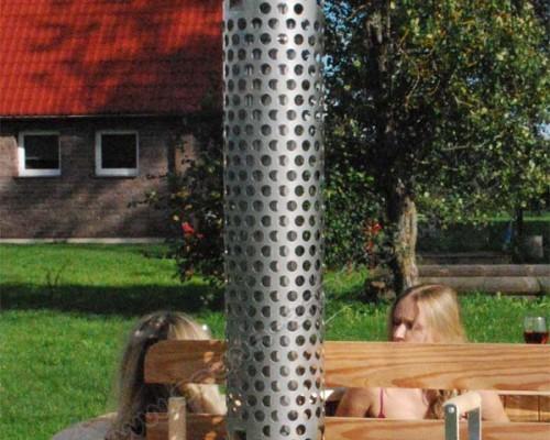 Schutzrohr für Schornstein Design Ignis-10