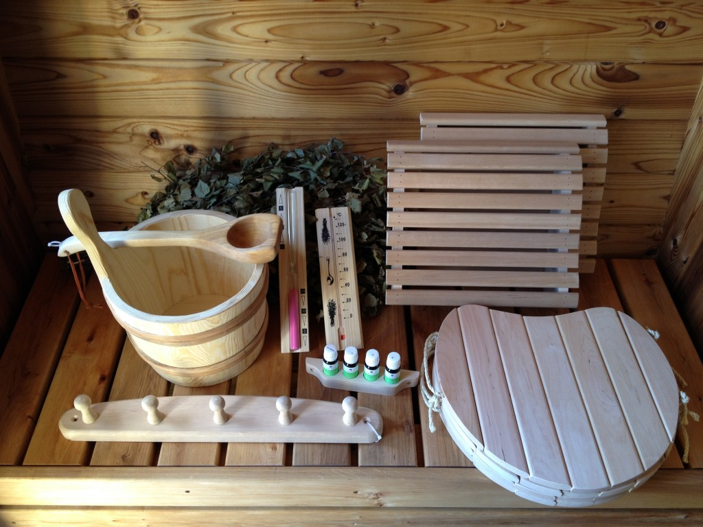 """Sand For Sale >> Sauna accessories kit """"XL"""" - Wooden Hot Tubs and Barrel Saunas"""