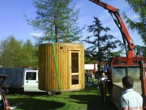 Tonnensauna sauna-badetonne transport (2)