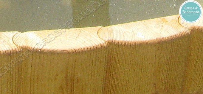 badetonne 170cm aus fichte mit innenofen badetonnen und saunen aus holz. Black Bedroom Furniture Sets. Home Design Ideas