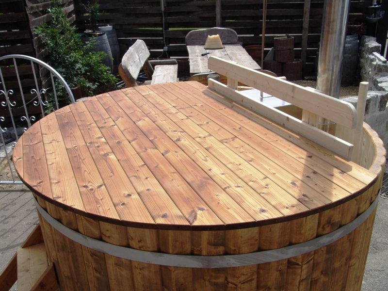 hot diy wood kit tub for bundle tubs heater heating a wooden