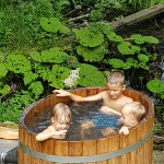 oval hottub