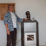 woodburning pool stove