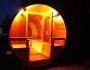 Tonnensauna mit Glaswand und Terrasse00007