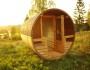 Tonnensauna mit Glaswand und Terrasse00014
