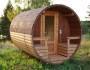 Tonnensauna mit Glaswand und Terrasse00015