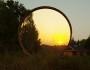 Tonnensauna mit Glaswand und Terrasse00018