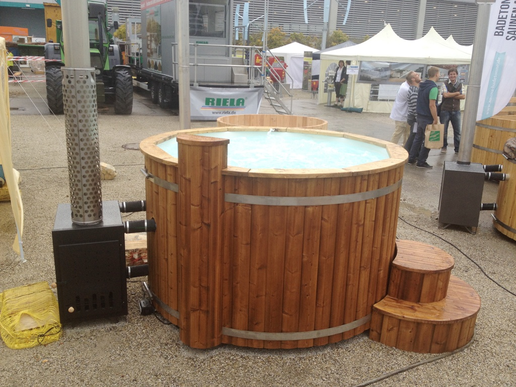 Log Fired Whirlpool - 2 Meter - Thermally Modified Wood - External ...
