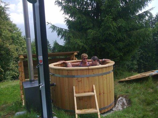 Berg Hot Pot in der Schweiz (1)