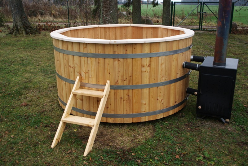 Wood Fired Hot Tub In Winter Snorkel Wood Fired Hot Tubssnorkel Tub Diy Craigslist Do You Use