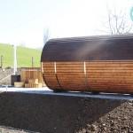2-Raum-Sauna und Badetonne in Herisau Schweiz