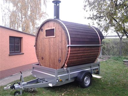 mobile sauna bambino in ehingen bei ulm badetonnen und. Black Bedroom Furniture Sets. Home Design Ideas