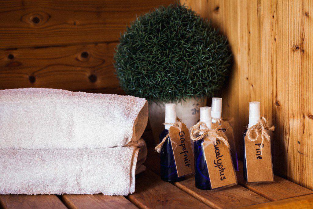 sauna oils