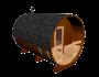 Tonnensauna mit Terrasse