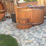 sauna und badetonne