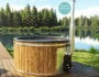 Badezuber mit Kunststoff und integrierter Ofen1
