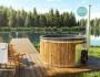 Badezuber mit Kunststoff und integrierter Ofen2