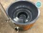 Badezuber mit Kunststoff und integrierter Ofen7