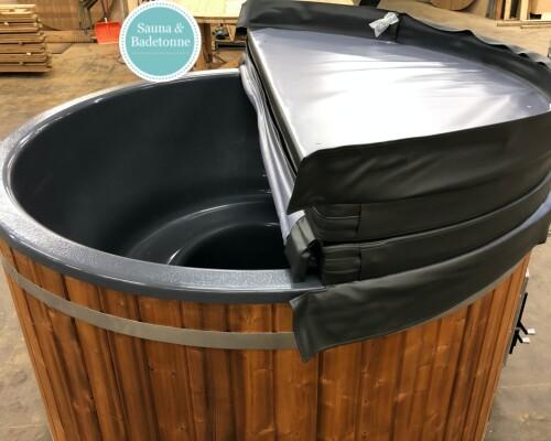 Badezuber mit Kunststoff und integrierter Ofen9